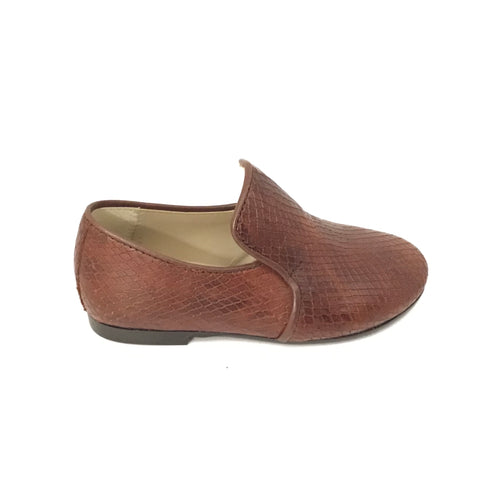 Papanatas Cuero Snakeskin Slip On