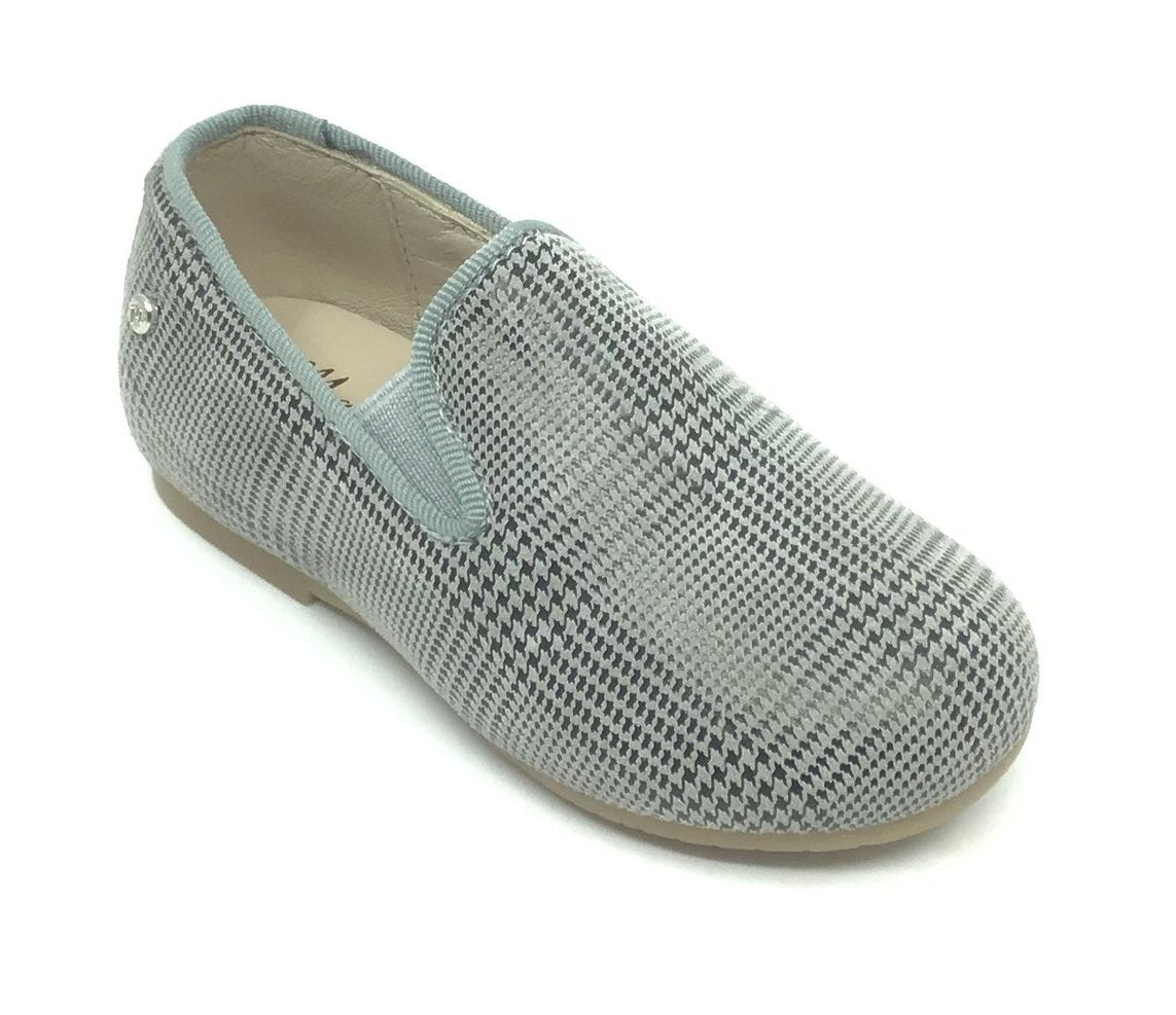 Manuela Gray Scottish Elastic Loafer