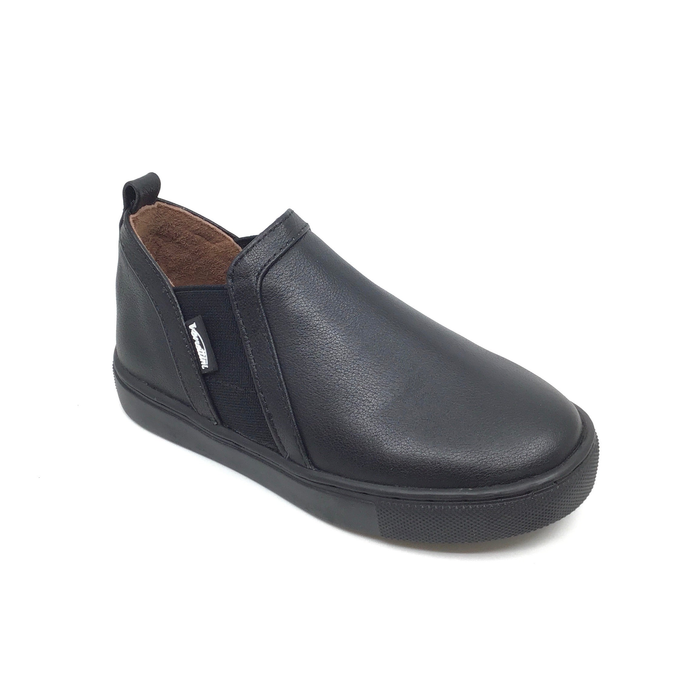 Venettini Black Elastic Slip On