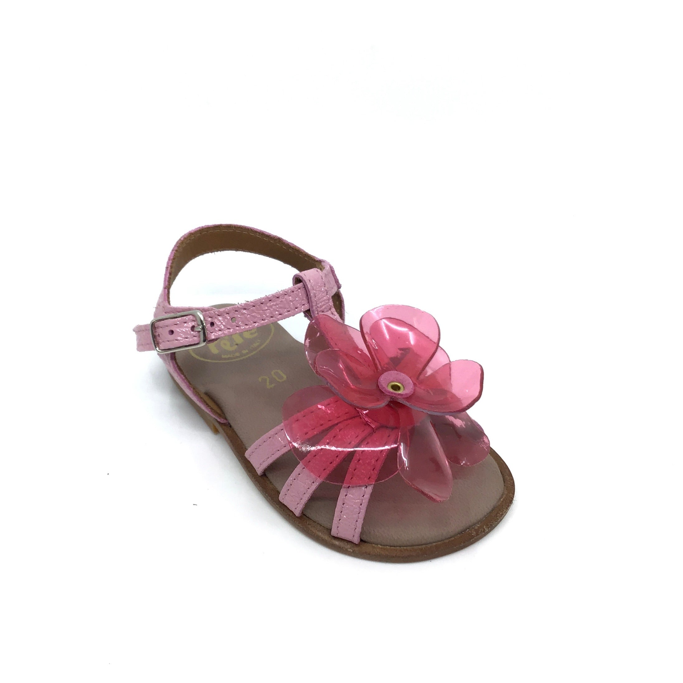 Pepe Pink Sandal with Flower