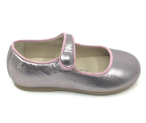 Manuela Metallic Lavender Mary Jane