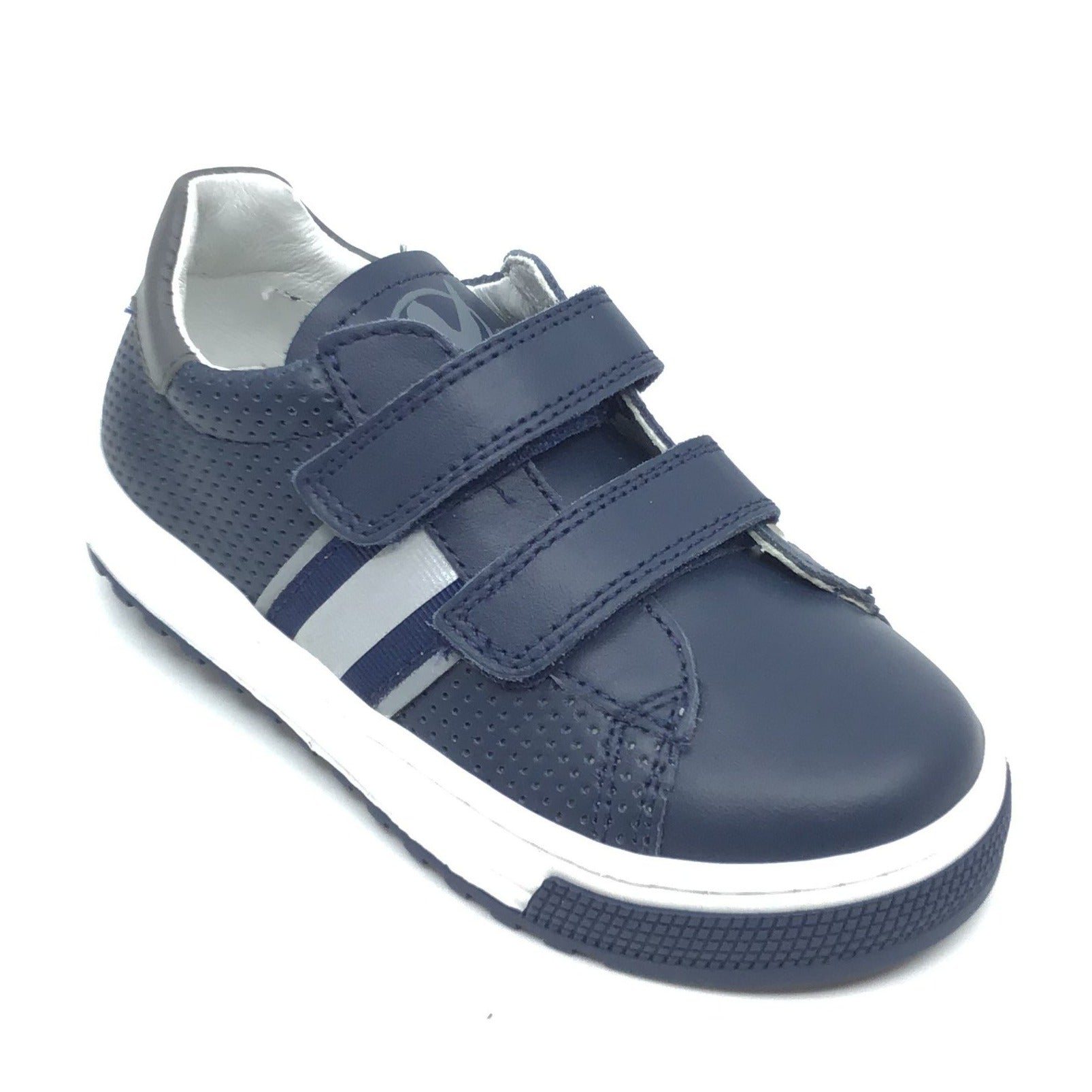 Naturino Navy Sneaker with Trim