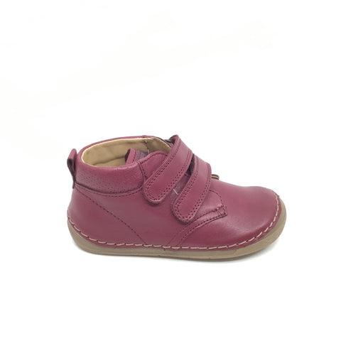 Froddo Double Velcro Bordeaux Hi Top