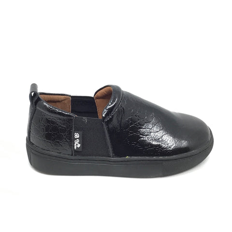 Veneziani Black Patent Slip On