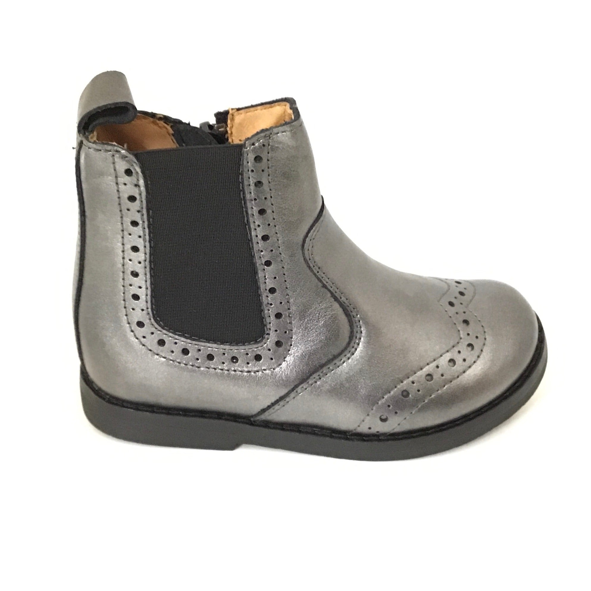 Froddo Pewter Leather Bootie
