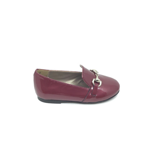 Papanatas Ruby Patent Slip On with Chain