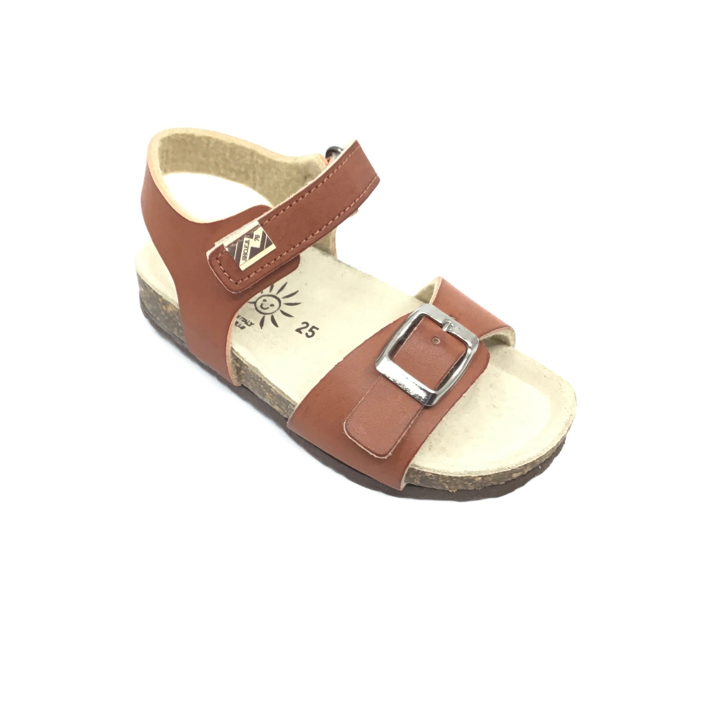 ShoeB76 Brown Sandal