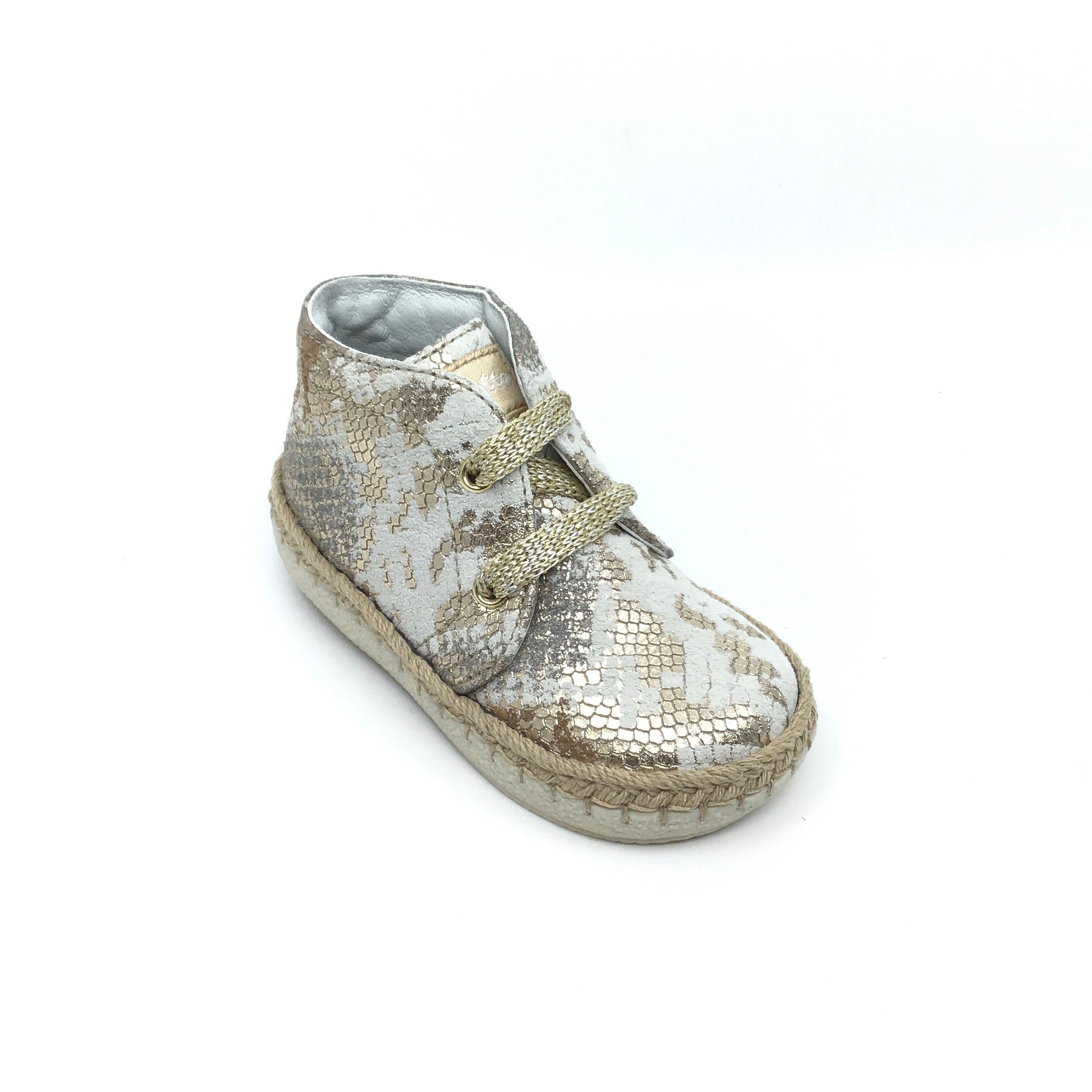 Falcotto Gold Print Hi Top