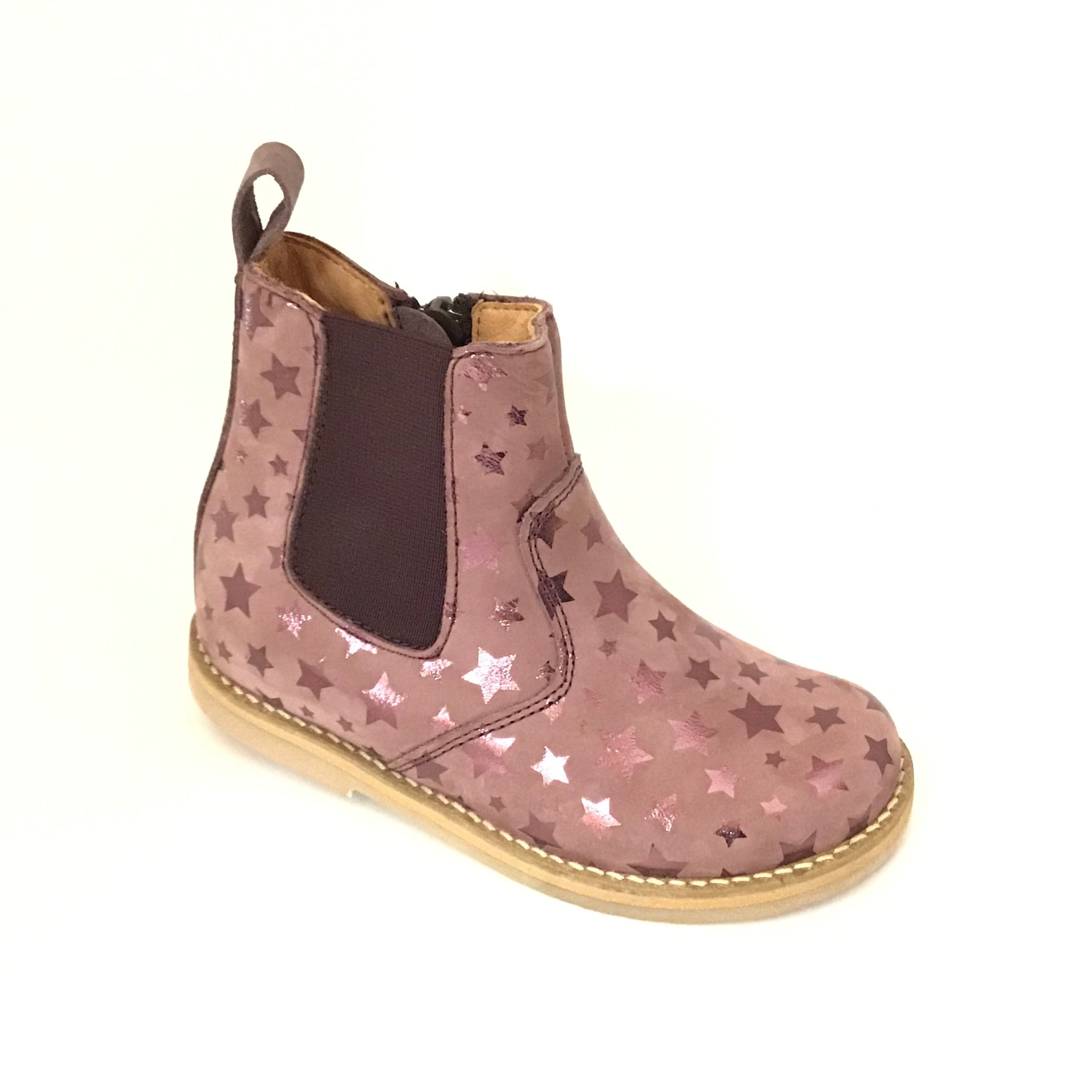 Froddo Pink Bootie with Stars