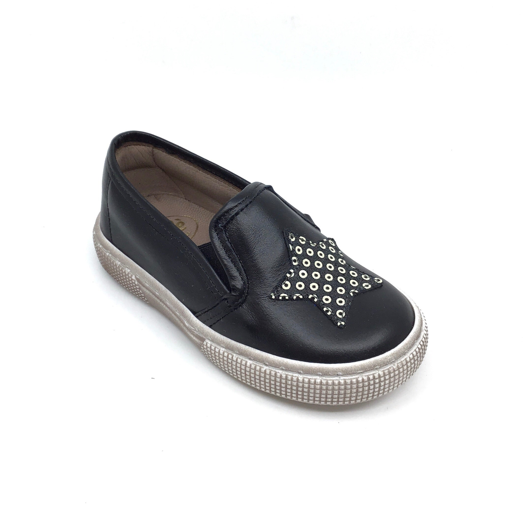 Pepe Black Sneaker with Star