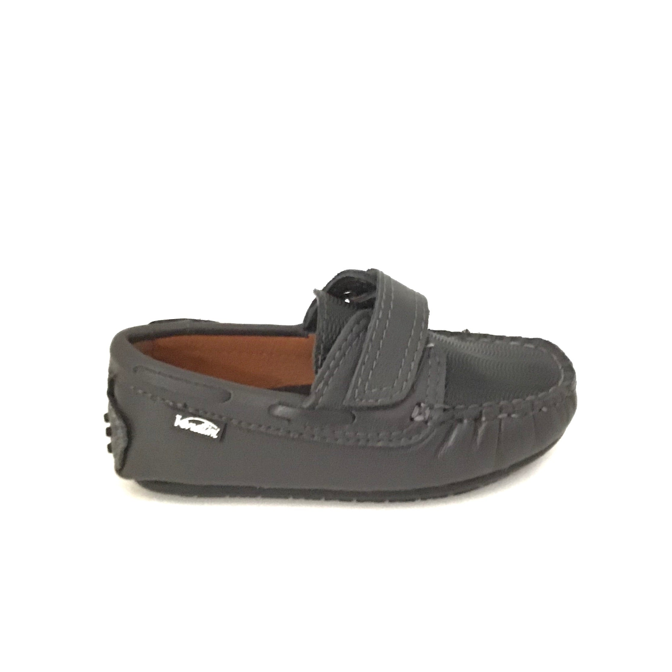 Venettini Velcro Gray Loafer