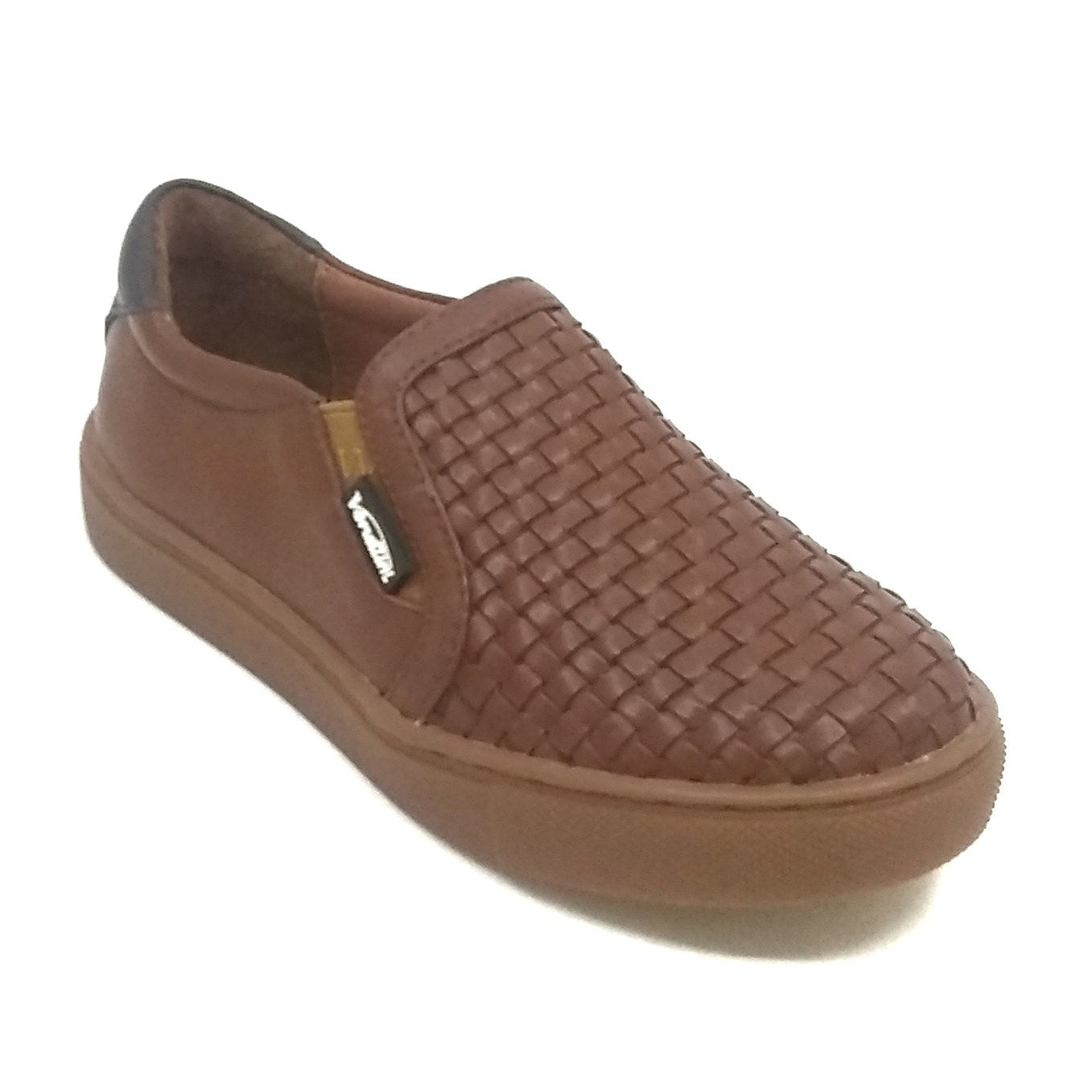 Venettini Brown Mesh Sneaker