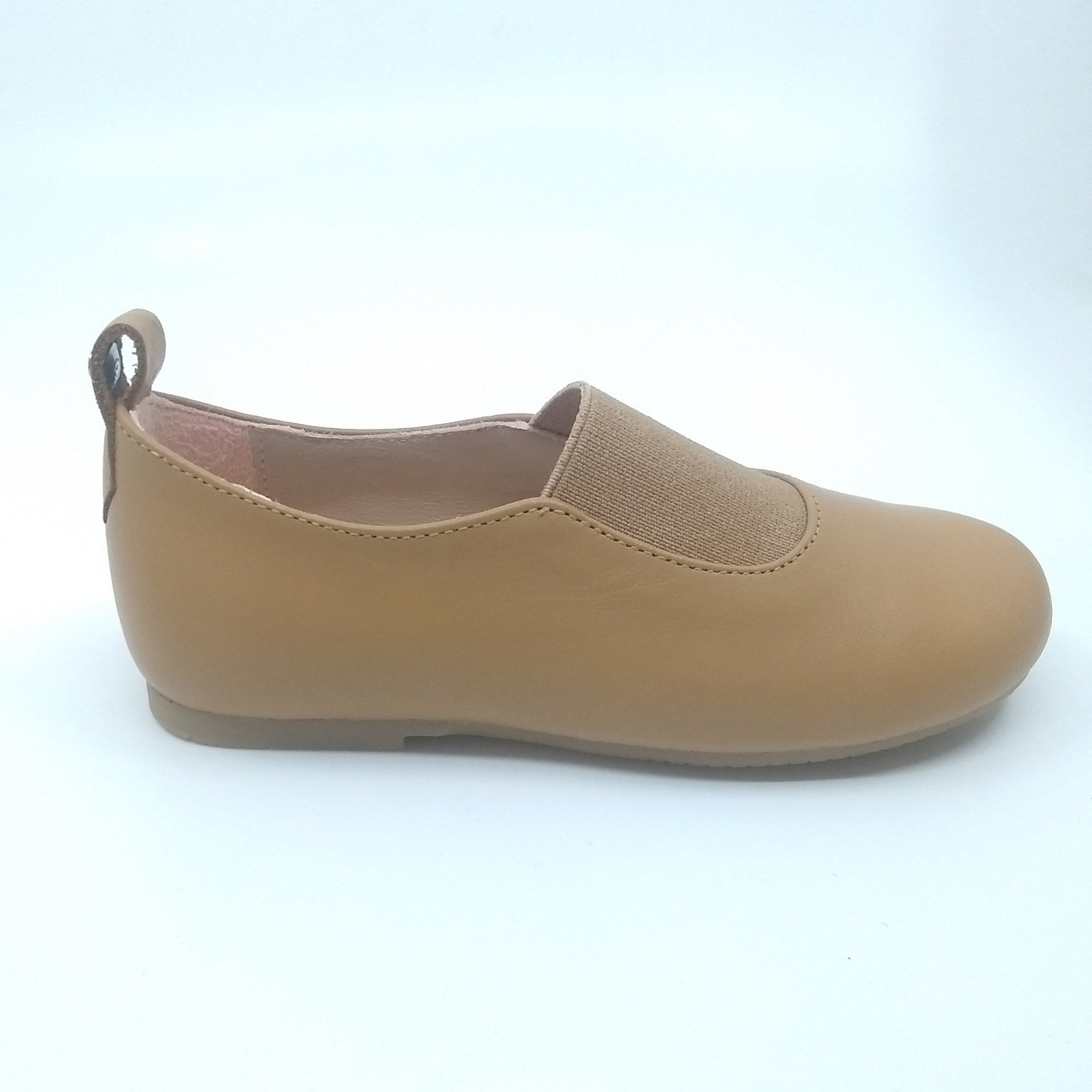 Manuela Honey Elastic Slip On