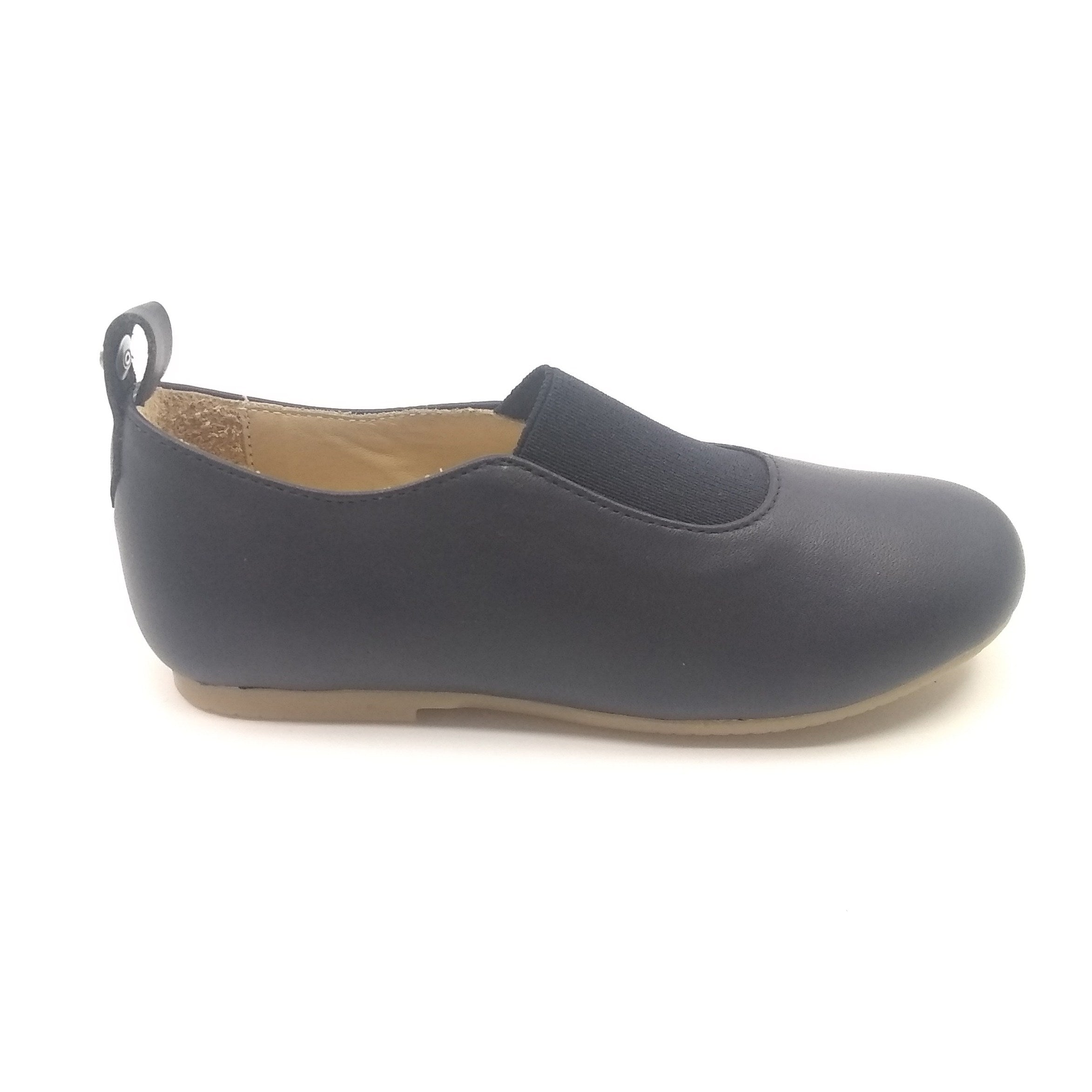 Manuela Navy Elastic Slip On
