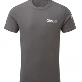 Great Britain SailGP Team: Cotton Team Tee - Charcoal