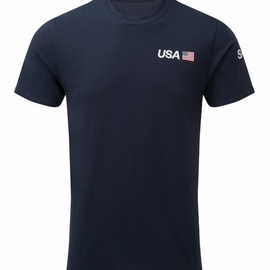USA SailGP Team Cotton Team Tee - Navy