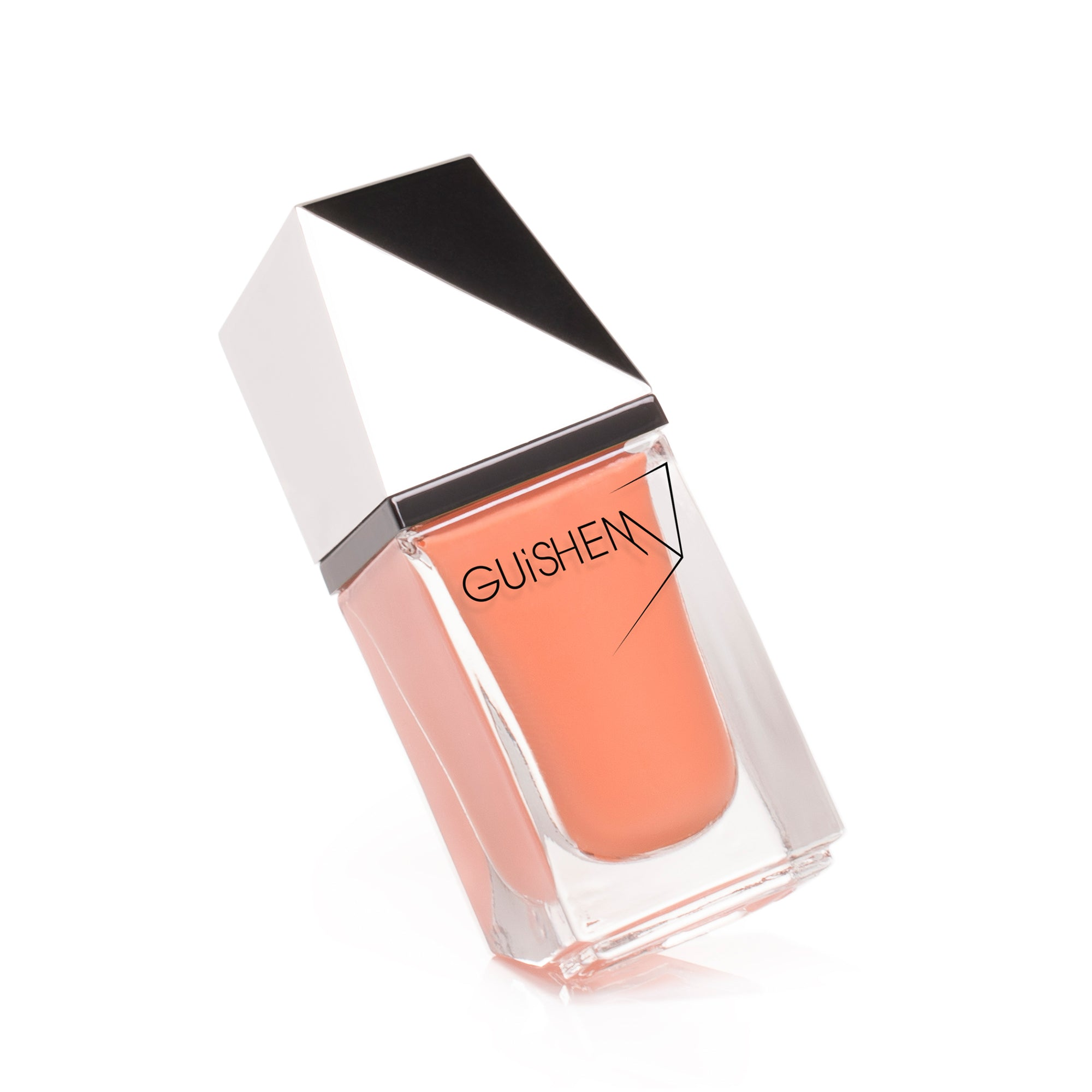 Premium Nail Lacquer, GLORY - 241, SOFT ORANGE CRÈME NAIL POLISH