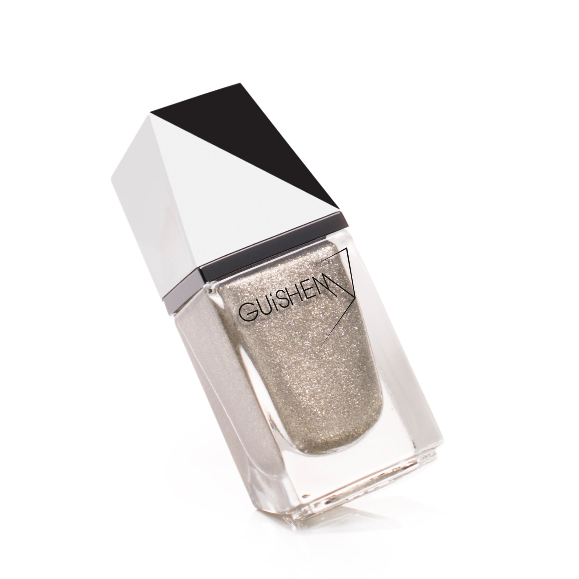 Premium Nail Lacquer, FROSTED ALMOND - 630, LIGHT GOLD SUGAR EFFECT NAIL POLISH