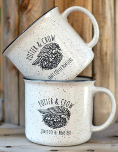 Campfire Ceramic Mugs - Set of 2 - 15oz