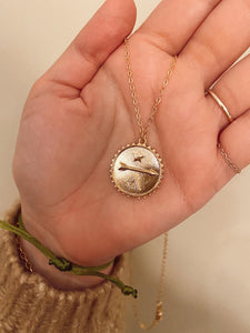 Arrow Coin Necklace