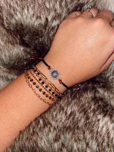 SUNFLOWER SILDER BRACELET