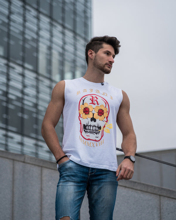 High-Spirited Skull Tank | RAJANI COUTURE