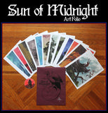 Arik Roper - Sun of Midnight art folio