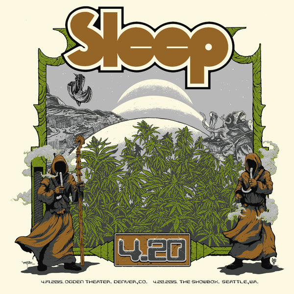 SLEEP 420 SMALL PRINT