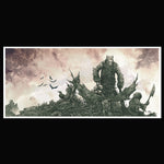 High on Fire - Death is This Communion - Official Arik Roper album cover print