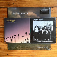 Sad Planets - Akron Ohio LP - metallic silver vinyl