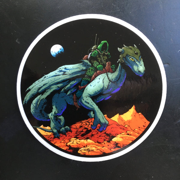 Dragonaut Sticker