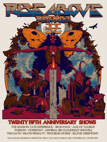 RISE ABOVE 25TH ANNIVERSARY PRINT