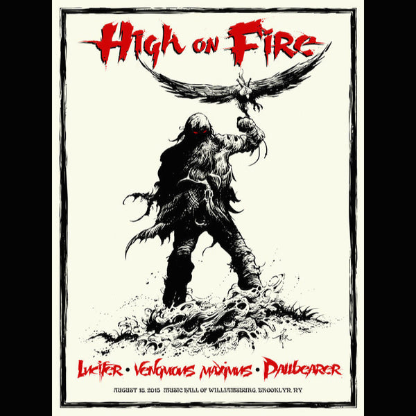 High On Fire - The Falconist poster
