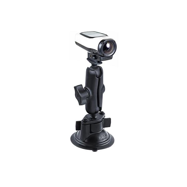 RAM® Twist-Lock™ Suction Cup Mount with Garmin VIRB™ Camera Adapter (RAM-B-166-GA63U)