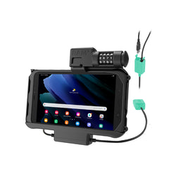 RAM-HOL-SAM58PD2CLU RAM Combo Locking Power + Dual USB Dock for Tab Active3 & Tab Active2-image-1