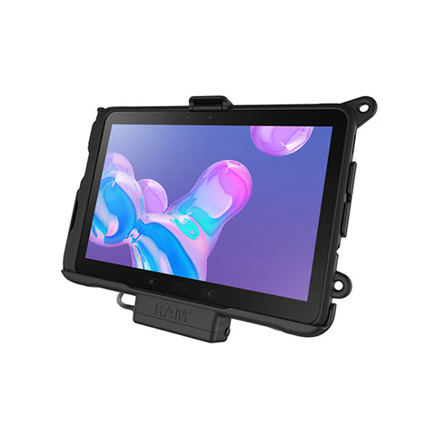 RAM® EZ-Roll'r™ Powered Cradle for Samsung Galaxy Tab Active Pro (RAM-HOL-SAM52PU)-Image-1
