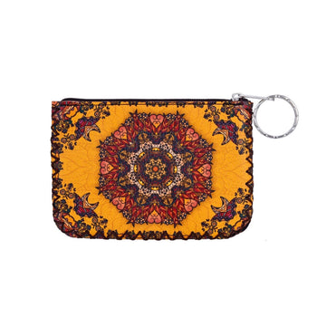 ETHNIC PRINTED COIN PURSE