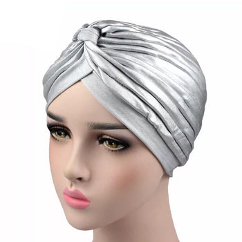 STRETCHY TURBAN DOME CAP