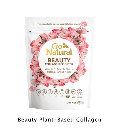 Go Natural Vitamins Botanical eco friendly Plant based collagen