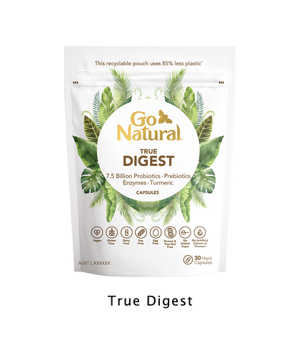 Go Natural Vitamins Botanical eco friendly True digest