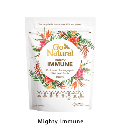 Go Natural Vitamins Botanical eco friendly immune supplement