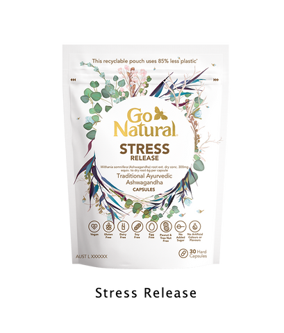 Go Natural Vitamins Botanical eco friendly Stress Release