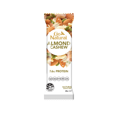 Almond Cashew 7.6g protein bar