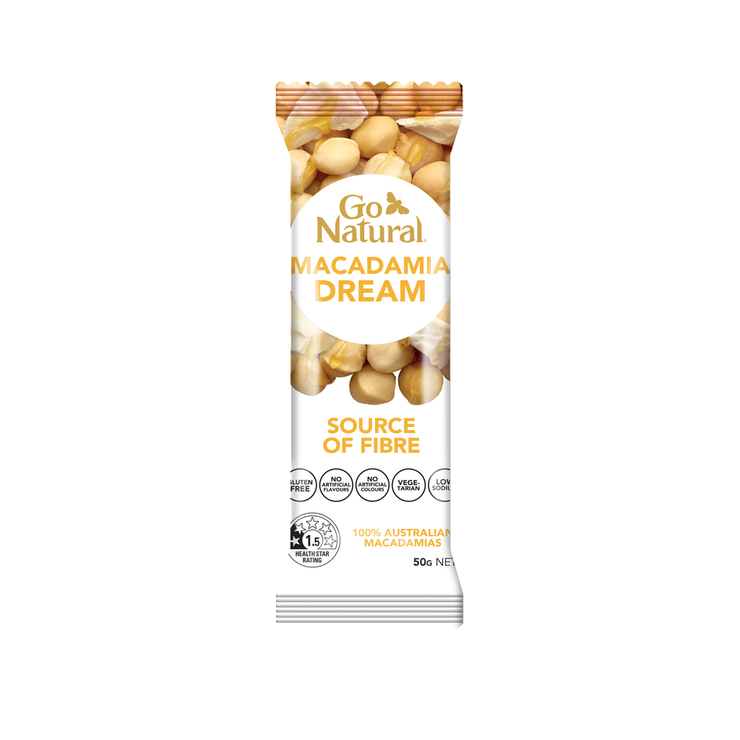 Macadamia Dream 50g bar