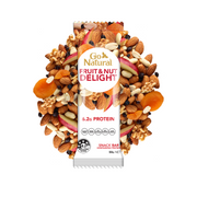 Go Natural Snack Bar Fruit and Nut Delight Bar Containing Protein