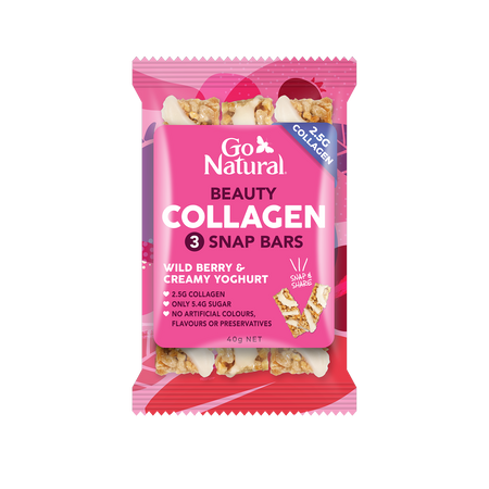 2.5g collagen cookies in wild berry and creamy yoghurt flavour