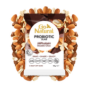 Go Natural Probiotic Slab HiProtein Double Choc
