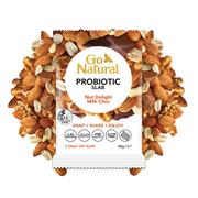 Go Natural Probiotic Slab Nut Delight Milk Choc
