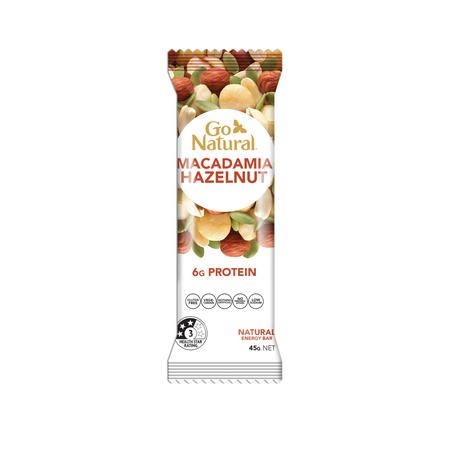 Go Natural Snack Bar Macadamia Hazelnut Energy Bar