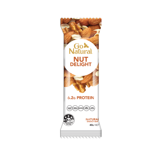 Go Natural Snack Bar Nut Delight Energy Bar